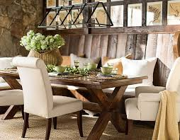 pottery barn style dining table:  dining room impressive rustic dining rooms and the rustic on pinterest picture of new on