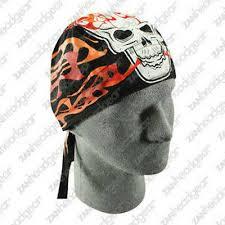 <b>Ride Free</b> w/Eagle on Black Skull Cap Biker Caps Headwraps Doo ...