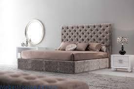 Fratelli Barri кровать двуспальная <b>180х200</b> велюр бежевый ...