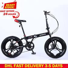 <b>DHL Fast Delivery</b> Folding <b>Bicycle</b> Mountain <b>Bike</b> 20-inch 18 16-inch ...