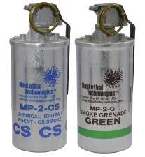 Tear <b>Gas</b> & Color <b>Smoke</b> Grenades, NonLethal Technologies