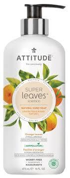<b>Мыло жидкое Attitude</b> Super leaves Orange Leaves — купить по ...