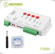 Online Shop <b>T1000S</b> SD Card WS2801 WS2811 WS2812 WS1903 ...
