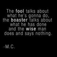 Boasting Quotes And Sayings. QuotesGram via Relatably.com