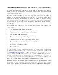 college application essay writing service