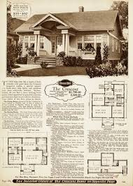 images about Vintage House Plans on Pinterest   Bungalows    Perhaps one of their top ten most popular designs  the Sears Crescent was offered in