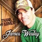 Thank a Farmer album by James Wesley