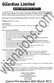 electrical and electronics engineer tayoa employment portal cover letter electrical and electronics engineer tayoa employment portal electronicselectronics engineer job description