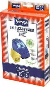 <b>Vesta</b> filter <b>TS</b> 06 <b>комплект пылесборников</b>, 4 шт + фильтр ...