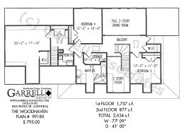 Woodhaven House Plan   Active Adult House Plans    woodhaven house plan   nd floor plan