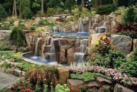 Fontana Cascata Da Giardino : Sassi per giardini elementi progettazione