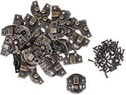 Hardware <b>Bronze Tone</b> Homyl <b>20 Sets</b> Antique Metal Latch Hook ...