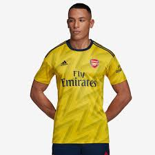 adidas Arsenal <b>2019</b>/20 Away <b>Shirt</b> - Eqt <b>Yellow</b> - <b>Mens</b> Replica ...
