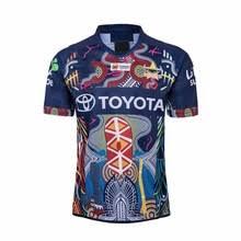 Мужская Трикотажная <b>Рубашка North</b> Queensland Cowboys ...