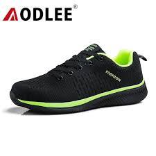 AODLEE Flyknit Sneakers <b>Men Casual</b> Shoes Plus Size 45 Fashion ...