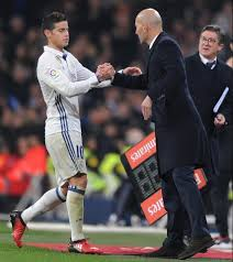 james rodriguez rejects ten times real madrid salary on offer james rodriguez has not played regularly under zinedine zidane this term