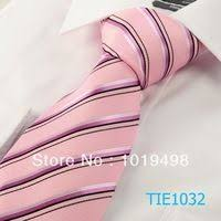 hot pink necktie 8.5cm width tie <b>free shipping 1pcs New</b> Striped Pink ...