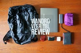 <b>WANDRD VEER 18L</b> - Review - whattodotomorrow