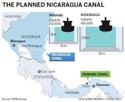 Image result for Construction on the canal in Nicaragua