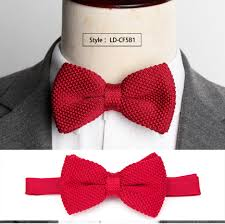 <b>Mens Bowtie Knitted Knit</b> Leisure Striped Bow Ties for Men ...