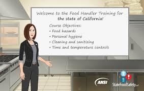 california food handlers card   statefoodsafety com