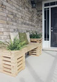 cedar wood corridor bench cedar bench plans
