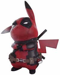 Фигурка <b>Pikachu</b> Deadpool (10 см) - купить по цене 800 руб