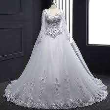 <b>Vestido De Noiva Wedding</b> Dresses 2019 Cristais Strass Bling ...