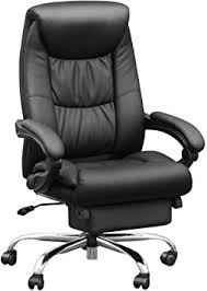Duramont Reclining Leather Office Chair with Lumbar ... - Amazon.com