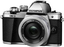 <b>Olympus OM</b>-<b>D E</b>-<b>M10</b> Mark II Kit 14-42 EZ, Silver цифровая ...