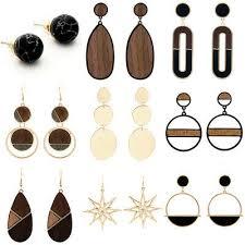 <b>Fashion</b> Wood Bead <b>Geometry</b> Pentagon Cos Hip Hop Baroque ...