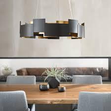 """<b>Moderne</b> 26.5"""" <b>LED Chandelier</b> Olde Bronze®   Kichler Lighting"""