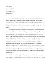 response essay to charlotte perkins the yellow wallpaper  kayla