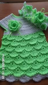 <b>Детское платье</b> крючком на 6 9 мес | Vestidos de crochê infantil