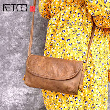 <b>AETOO New Original handmade</b> leather ladies envelope bag ...