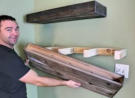 wood floating shelf wood floating shelves floating shelf floating shelves diy floating build floating shelves