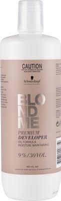 <b>Schwarzkopf BLONDME Premium Oil</b> Developer 9 percent 900ml
