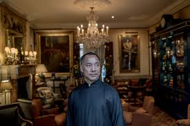as trump meets xi at mar a lago there s a wild card the new guo wengui was in london recently at the prestigious mark s club in fair which requires men to wear jackets at all times he said he was a member of