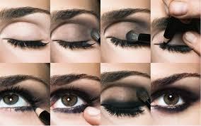 apply smokey makeup 1 smokey eye makeup step by
