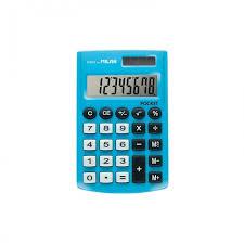 <b>Milan Калькулятор карманный</b> 8 разрядов двойное питание ...