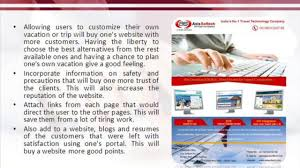 make online travel agency website for tickets booking video how to make travel agency website for online ticket booking axis softech
