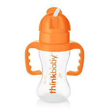 Thinkbaby Thinkster Bottle, Orange (9 ounce) : Baby ... - Amazon.com
