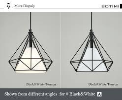<b>BOTIMI</b> Southeast Asia Style <b>LED Pendant Lights</b> With Metal ...