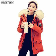 2019 <b>Winter Jacket</b> Women Hooded <b>warm Cotton Coat</b> Down ...