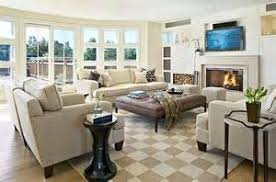 large living room furniture layout