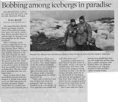 portfolio travel essay paradise in antarctica arizona republic 2009