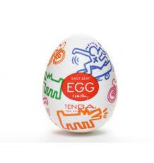 <b>TENGA&Keith Haring</b> Egg <b>Мастурбатор яйцо</b> Street