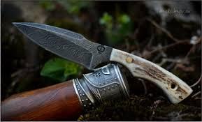 <b>Шейный нож</b> - Производства мастерской Федотова