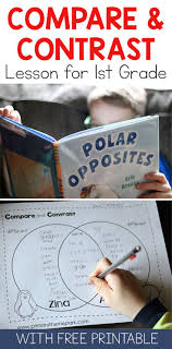 ideas about compare and contrast student compare and contrast activities compare and contrast first grade polar animals