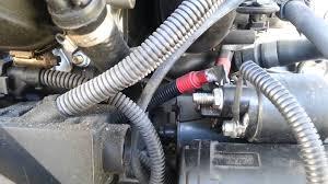 bmw e46 engine starter removal 325 330 530 e39